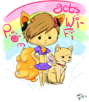 Pewds in Pom Gets Wi-Fi by GreenUnicornPugs