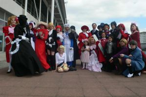 Black Butler group shot MCM May '11 by KaniKaniza
