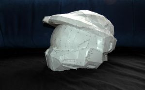 Master Chief Helmet (more) Resin (1/6) by Techxu