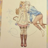 Jack Frost nipping at your nose by MissVajsing