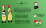 IF2 Ref: Claire by LisaAndMonster