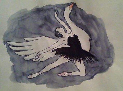 Swan lake by osiliaque
