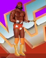 WWF Legends - Randy Savage by sanchezdesigns