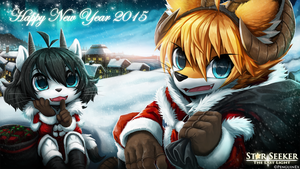 Happy new year 2015 by PenguinEXperience