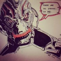 Ultron Sketch by Onore-Otaku