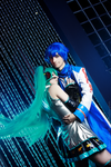 Miku Kaito Cosplay by Rubrum-Cervi