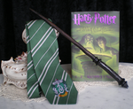 Slytherin Wand by IgneousRocks