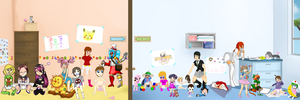 Hourglass-of-Youth Nursery Collab 5 - 2014 by TurtwigChampion