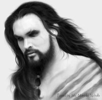 Drogo long hair by Mirishka by mirishka10