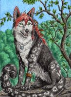ACEO for Eleweth by Strecno
