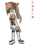 kikyo4ever:Lucie The Wolf by ItsAComplicatedStory
