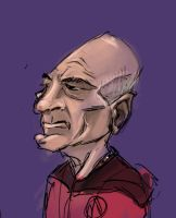 Picard speed painting by GregoryRoth