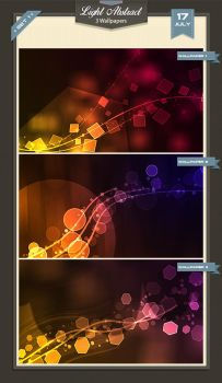 Lights Abstract Wallpapers by baturaN