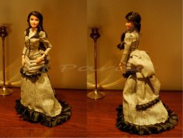 19th Century summer gown by arcticorset