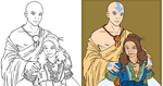 The Avatar and his Lady by AmiraElizabeth