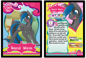 Sound Wave Card by Clockwork-Scarecrow