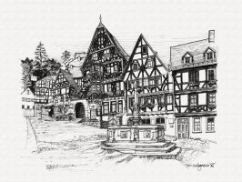 Schnatterloch, Germany by Winang