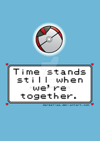 Pokeball Valentine Card_Timer Ball by dareatlas