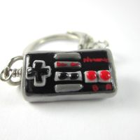 NES controller keychain by TrenoNights