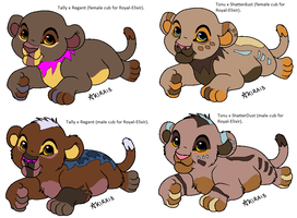 Cubs for Royal-Elixir breeding results for a trade by Natalia-Clark
