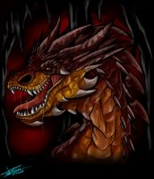 Smaug by Mimy92Sonadow
