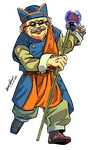 Chrono Trigger Collab: Melchior by Lightning-Powered
