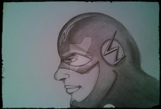 My Version of The Flash by LadyDeadPool32