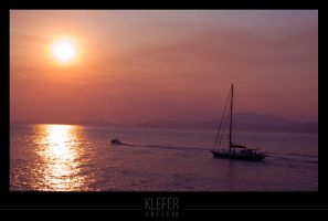 greek sunset 2 by klefer