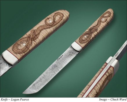 Dragon Tanto by Logan-Pearce