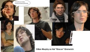 Cillian Murphy as Otacon by mistress-kizuna