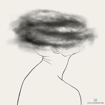 depression: brain fog by stvn-h