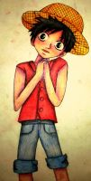 Monkey D. Luffy One Piece by bunnyrabb567