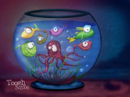 Fish Tank by Tooshtoosh