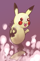 Ghost Pikachu by P5ych