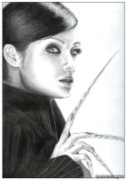 DeathStrike-Kelly Hu by nondescrypt