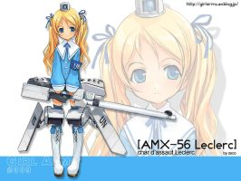 GirlArms AMX-56 Leclerc Wall by HaMsTeYr
