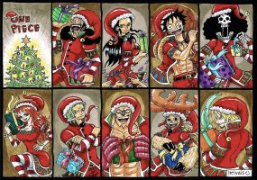 The straw hats, christmas by heivais