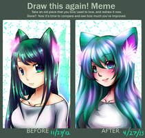 Draw This Again (Chroma sketchs) by TakkuNoTori