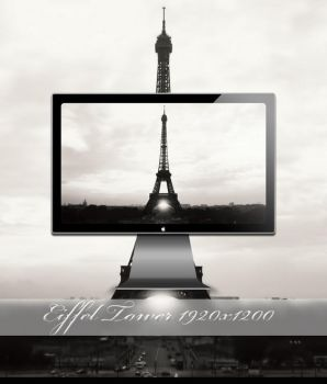 Eiffel Tower by SABBAT2010