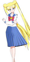 MMD Usagi crystal by frede15