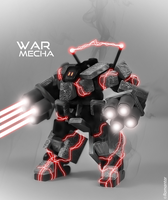 War Mecha # Black destruction by Romantar