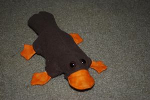 Platypus .I Hate You. plush by ParadoxAndPlaid