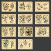 Tattoo Flashes for sale !!! by gettattoo