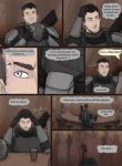 Hunter and Thief Page Four by Drakarra
