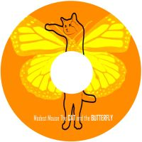 The CAT and the BUTTERFLY CD by xXxRozu-chanxXx