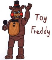 Toy Freddy by YouCanDrawIt