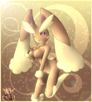 Lopunny Anthro by oldanthropokemon