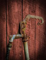Rusted Pump by Abasyyx