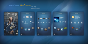 Android Theme JAZZ BB King by buddhadharmasangha