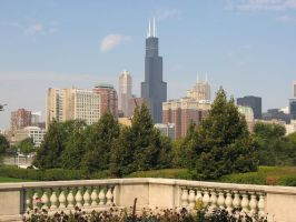 Chicago Skyline by abrazokoan